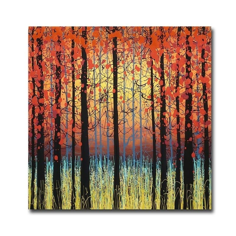 Peace Of Nature By Daniel Lager Gallery Wrapped Canvas Giclee Art 30 In X 30 In Ready To Hang On Sale Overstock 27618947