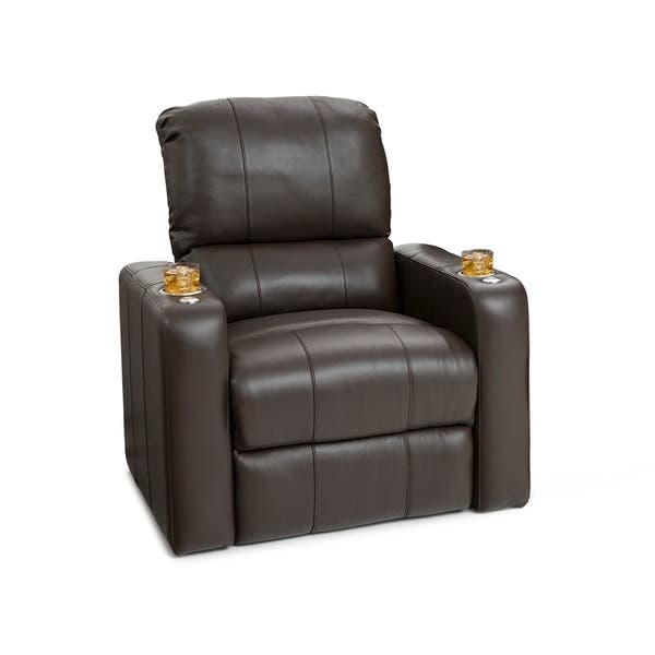 Seatcraft Millenia Leather Home Theater Seating Wall