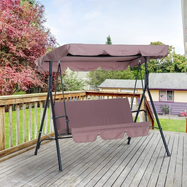 High-quality water resistant and mildew swing canopy top without swing frame