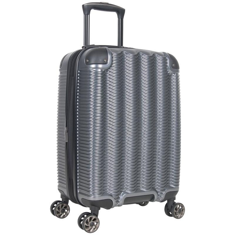 InterestPrint Carry-on Garment Bag Travel Bag Duffel Bag Weekend Bag with White Snowflakes