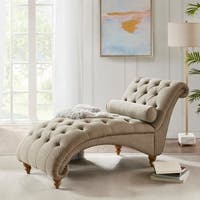 Madison Park Summerfield Tan Accent Chaise - 33 x 29 x 64.5