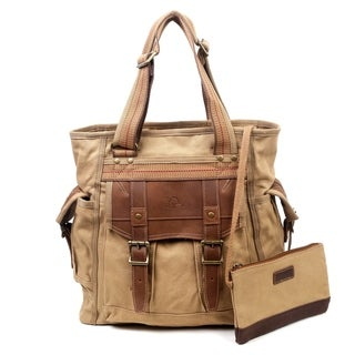 Link to TSD Brand Turtle Ridge Canvas Tote Similar Items in Shop By Style