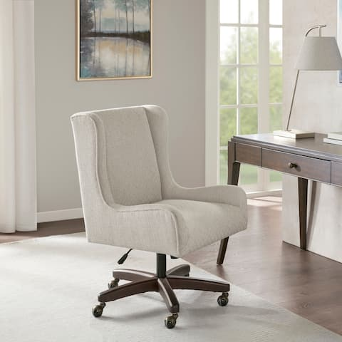 Madison Park Klaus Cream Office Chair