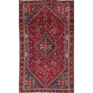 """Antique Lori Tribal Geometric Hand-Knotted Wool Persian Area Rug - 7'9"""" x 4'6"""""""