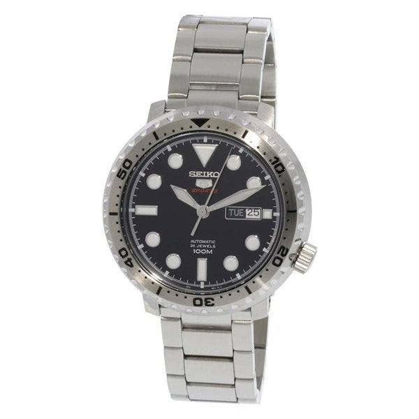 Seiko Men's SRPC61 '5 Sports' Stainless Steel Watch. Opens flyout.