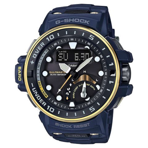 Casio GWNQ1000NV-2A G-Shock Gulfmaster Black Dial Watch