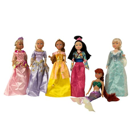 "11.5"" Princess Dolls Gift Set"