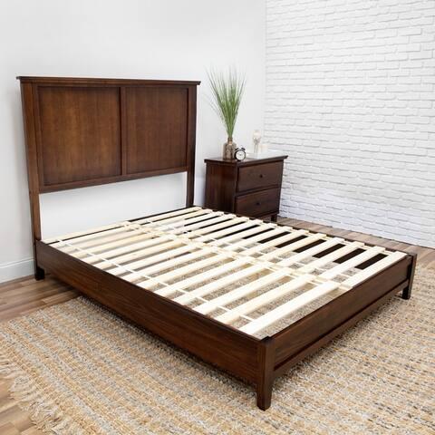 DreamSmart Brazilian Pine Complete Platform Bed