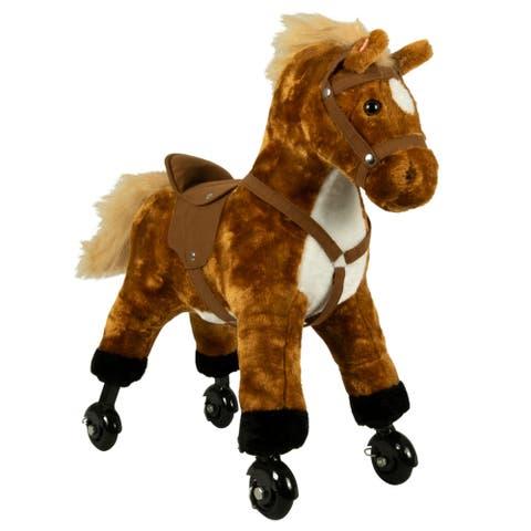 Little Walking Horse on Wheels