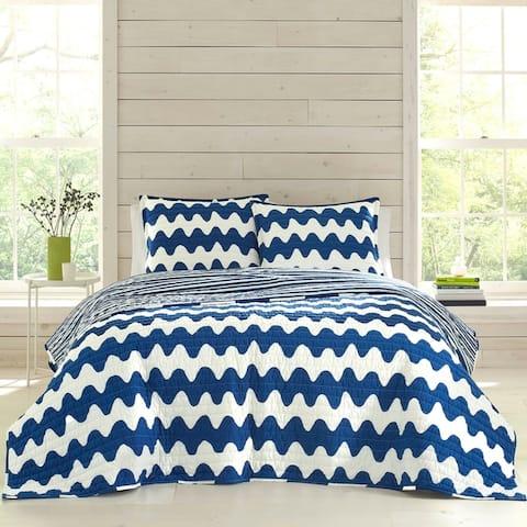 Marimekko Pikku Lokki Blue Quilt Set