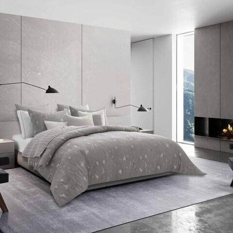 Vera Wang Silver Birch Grey Duvet Cover Set