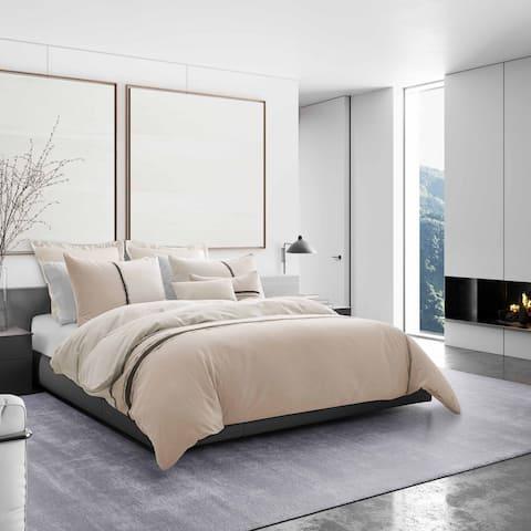 Vera Wang Verge Pink Comforter Sham Set