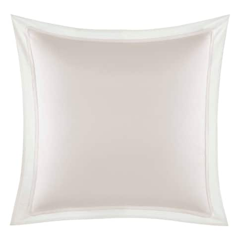 Vera Wang Verge Pink European Sham - 26x26