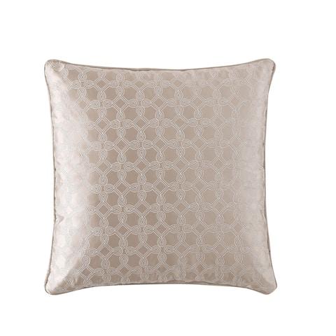 Veratex Travino Embroidered 18 x 18 Square Pillow