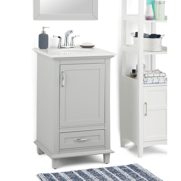 Shop Wyndenhall Newton 20 Inch Traditional Bath Vanity In