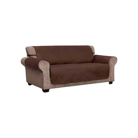 Belmont Leaf Secure Fit XL Sofa Furniture Cover Slipcover