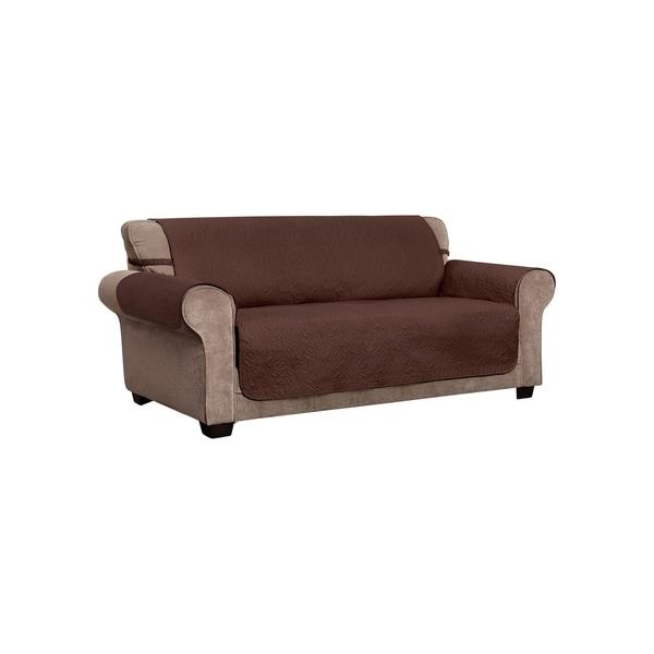 Shop Belmont Leaf Secure Fit Xl Sofa Furniture Cover