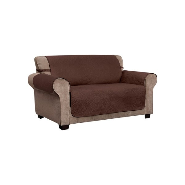 Furniture With Free Shipping: Shop Belmont Leaf Secure Fit Loveseat Furniture Cover