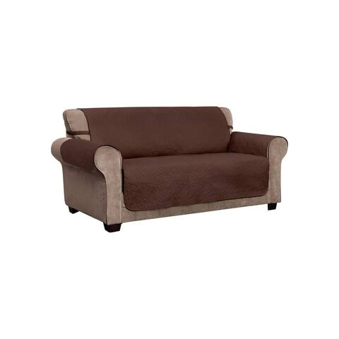 Belmont Leaf Secure Fit Sofa Furniture Cover Slipcover