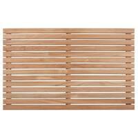Nordic Style Natural Teak Shower Mat 31.4″ x 19.6″ - 31.4 19.6