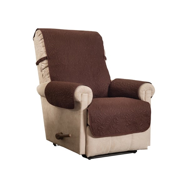 Shop Belmont Leaf Secure Fit Recliner Furniture Cover