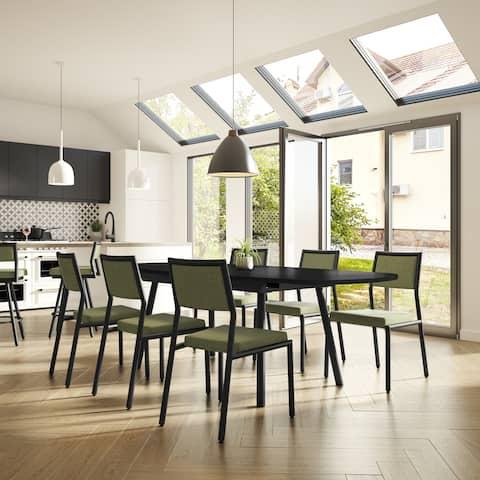 Carson Carrington Conlig 7-piece Dining Set with Armless Chairs