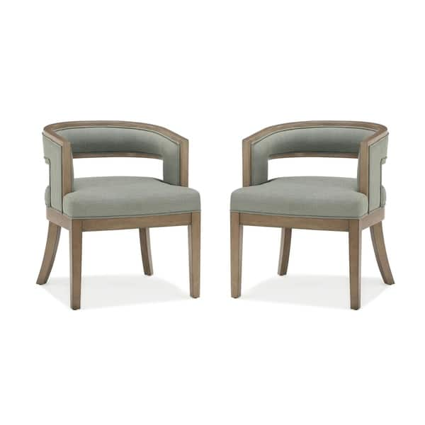 Tremendous Shop Avenue Greene Fresno Rounded Back Accent Chair Set Of Evergreenethics Interior Chair Design Evergreenethicsorg