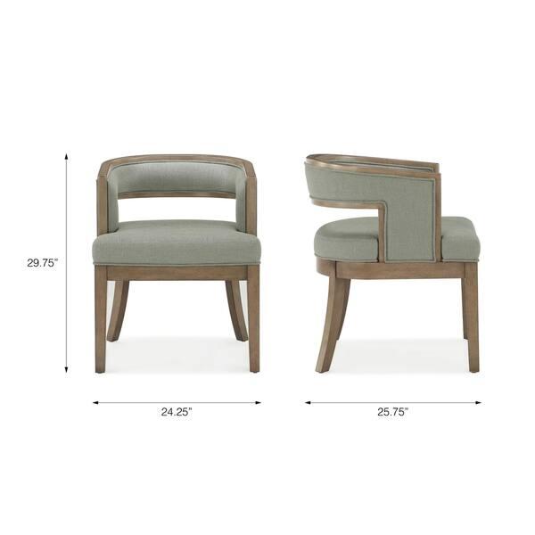 Strange Shop Avenue Greene Fresno Rounded Back Accent Chair Set Of Evergreenethics Interior Chair Design Evergreenethicsorg