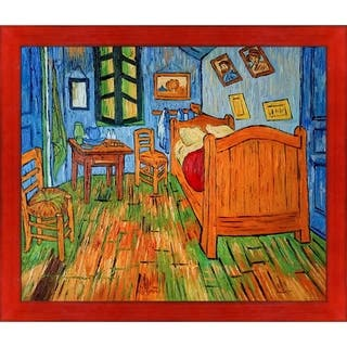 Vincent Van Gogh 'Bedroom at Arles' Hand Painted Oil Reproduction