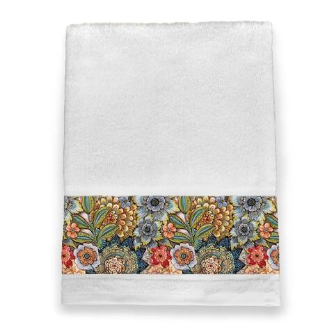 Boho Boquet Bath Towel