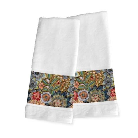 Boho Boquet Set of 2 Hand Towels