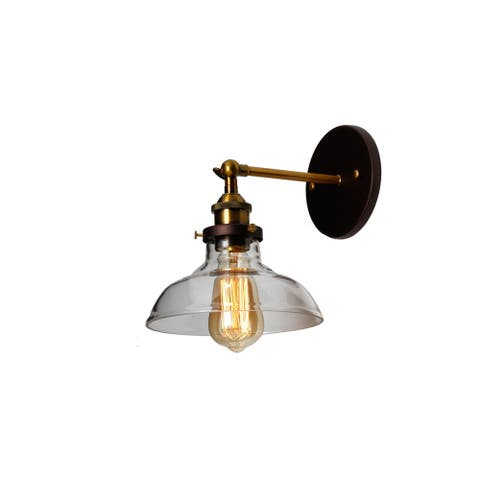 1-light Oil Rubbed Bronze Wall Sconce