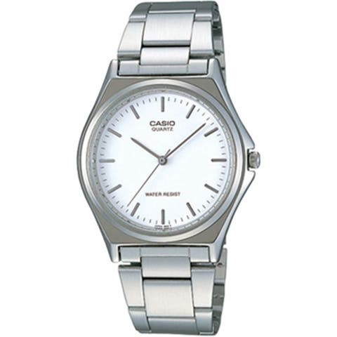 Casio Men's LTP-1130A-7A 'Casual' Stainless Steel Watch