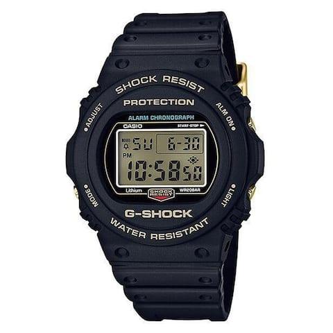 Casio Men's DW5735D-1B 'G-Shock' Black Resin Watch