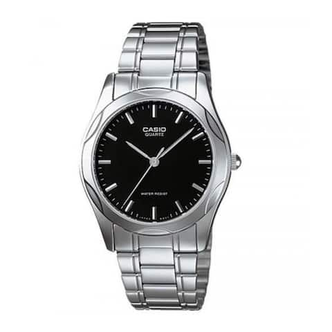 Casio Men's LTP-1275D-1A 'Casual' Stainless Steel Watch