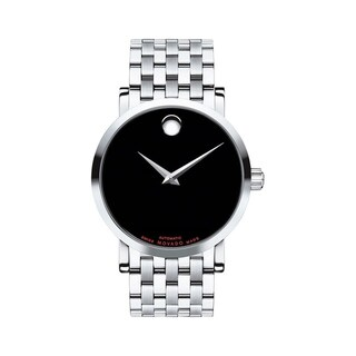 Link to Movado Men's 0606283 'Red Label' Dot Stainless Steel Watch Similar Items in Men's Watches