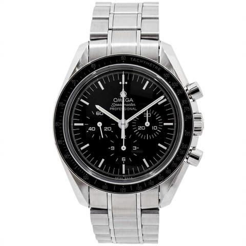 Omega Men's 311.30.42.30.01.006 'Speedmaster ' Chronograph Stainless Steel Watch