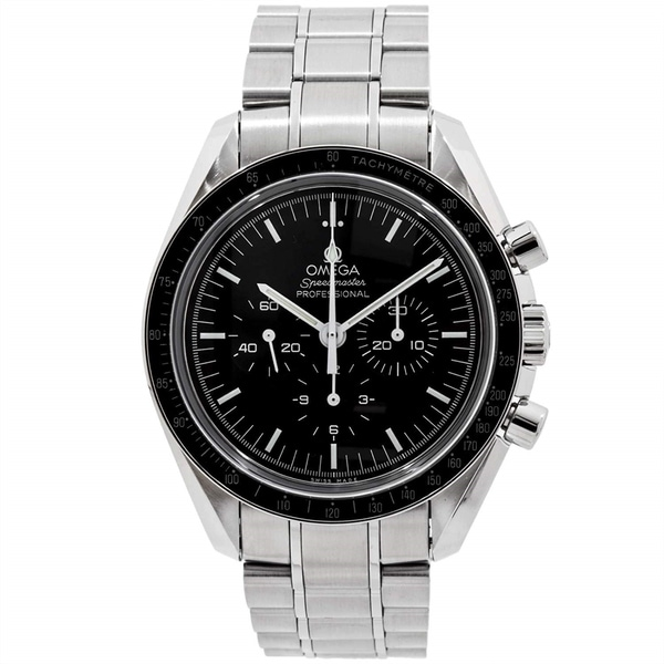 Omega Men's 311.30.42.30.01.006 'Speedmaster ' Chronograph Stainless Steel Watch. Opens flyout.
