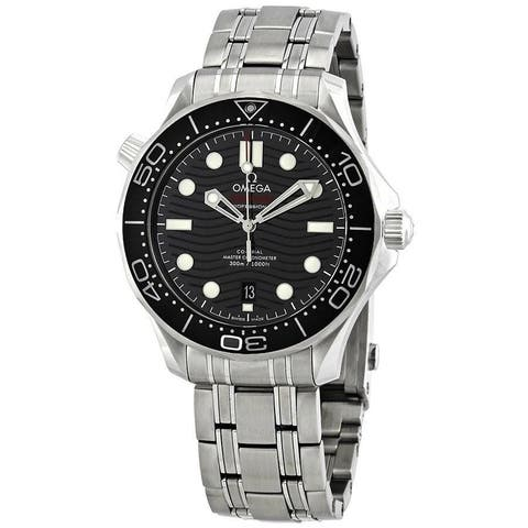 Omega Men's 210.30.42.20.01.001 'Seamaster' Stainless Steel Watch
