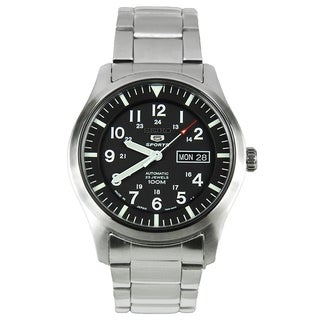 Link to Seiko Men's SNZG13J1 'Series 5' Stainless Steel Watch Similar Items in Men's Watches