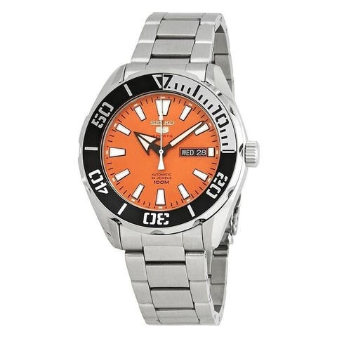 Seiko Men's SRPC55 '5 Sports' Stainless Steel Watch