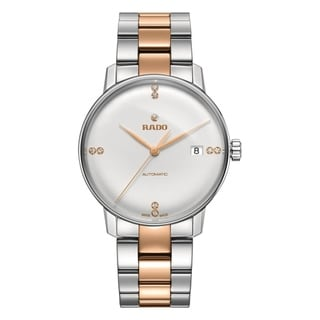 Link to Rado Men's R22860722 'Coupole' Diamond Two-Tone Stainless Steel Watch Similar Items in Men's Watches