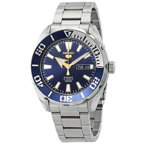 Seiko Men's SRPC51 'Series 5' Stainless Steel Watch