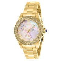 Invicta Women's 28481 'Angel' Gold-Tone Stainless Steel Watch