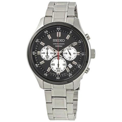 Seiko Men's SKS593 Stainless Steel Watch