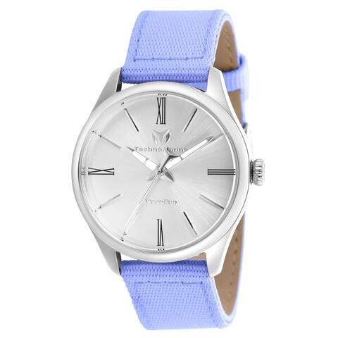TechnoMarine Women's TM-117011 'Moonsun' Grey Riffle Watch