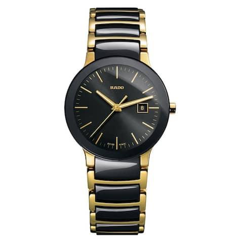 Rado Women's R30930152 'Centrix' Two-Tone Stainless Steel Watch
