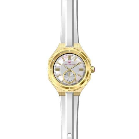 TechnoMarine Women's TM-118006 White Silicone Watch