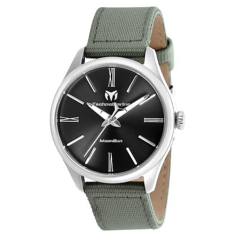 TechnoMarine Women's TM-117012 'Moonsun' Grey Riffle Watch