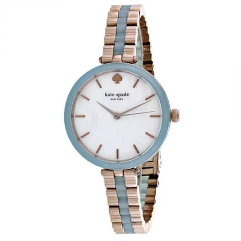 Kate Spade Women's KSW1424 'Holland' Two-Tone Stainless Steel Watch